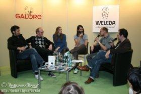 15.03.2008 - 12:00 Uhr - Wir sind Helden - Leipzig - Messe - Galore Café
