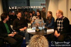 15.03.2008 - 13:00 Uhr - Wir sind Helden - Leipzig - Messe - LVZ-Autoren-Arena